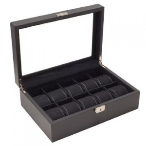 Black,Watch Box, Jewellery