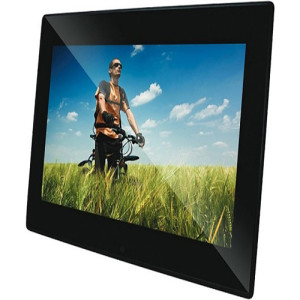 Qpix, 10.1in QPIX, Slim LED, Digital Photo Frame