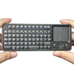 Rii, 2.4G, Wireless, Mini Keyboard, Touch Pad