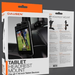 Dausen, Tablet, Headrest Mount, Ipad, Andriod Tablet