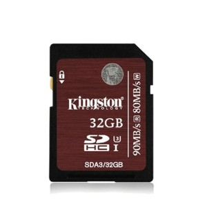 Kingston, 32GB, SDXC Card, Class 10, Ultra High-Speed