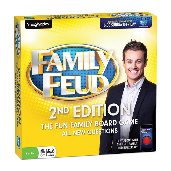 Family Feud, 2nd, Edition, Board Game