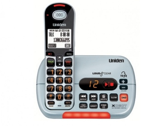 Uniden, SS E353, Visual & Hearing, Impaired, Cordless, Phone System