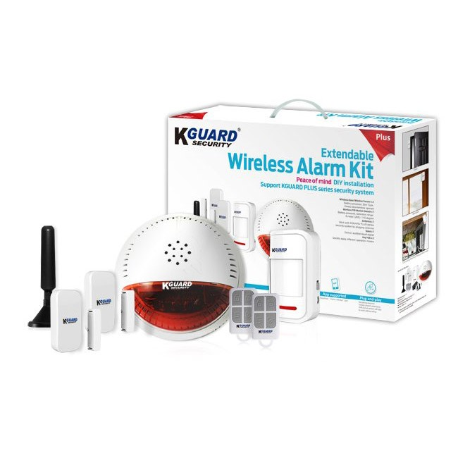 KGUARD, DSH-002, Wireless Alarm Kit