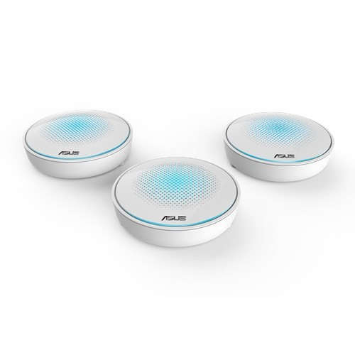 ASUS, Lyra, AC2200, Tri-Band, Whole-Home, Wi-Fi System, Mesh Network