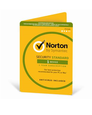 Norton Security, Standard OEM, 1 Device, 1 Year CD