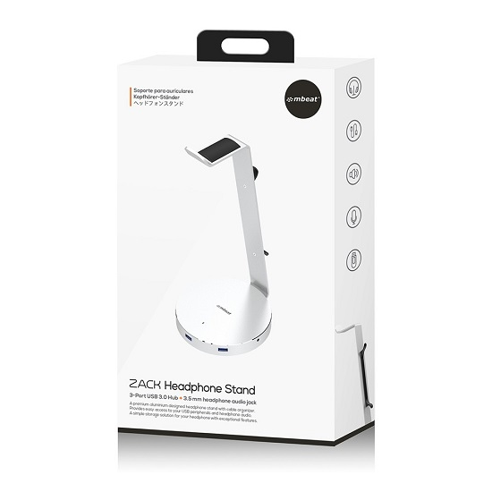 mbeat, ZACK ,Aluminium, Headphone Stand