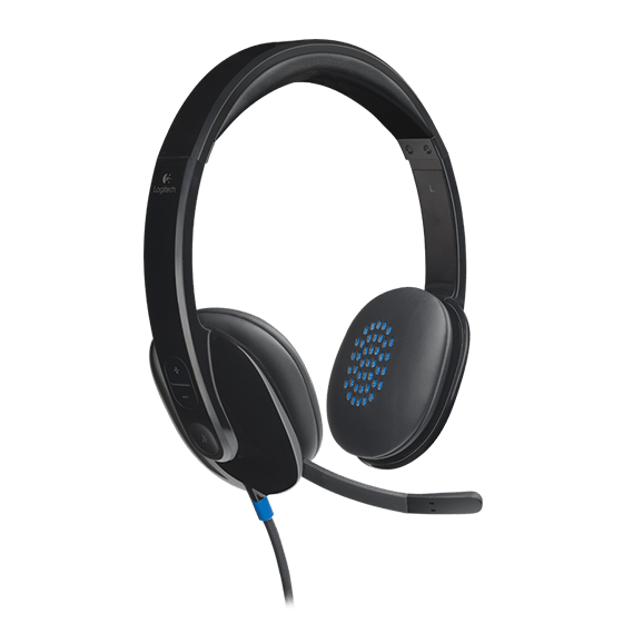 Logitech, Wired, USB, Headset, H540