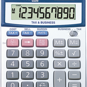 Calculator, Canon, LS-100TS, Tax Calculator