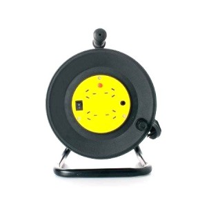 8ware, Power Cable, Extension Reel, 4 Way Socket Panel, 25m