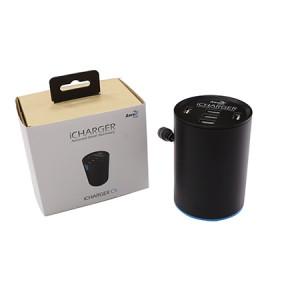 Aerocool, iChargerC5, Retractable,USB Car Charger
