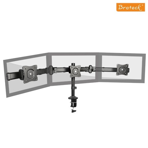 Brateck, Outstanding ,Three ,LCD ,Desk Mounts, Desk Clamp